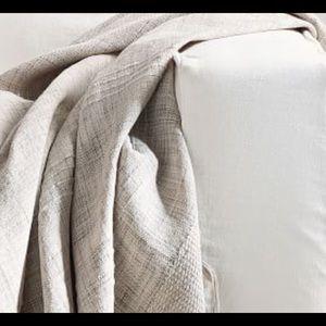 Mattia Handwoven Indoor/Outdoor Throw Blanket NWOT